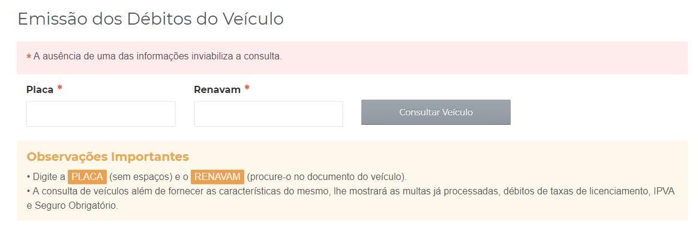 Consulta Licenciamento Acre